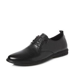 Teenmix/天美意2018春专柜同款牛皮商务风系带鞋男单鞋2GL01AM8