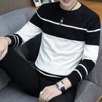 男士毛衣男秋季2018新款秋冬季针织衫韩版潮流社会小伙长袖打底衫