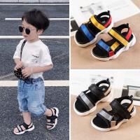 宝宝凉鞋男1-3岁儿童沙滩休闲鞋子女童一0-2小童软底防滑学步鞋潮
