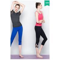 紧身瑜伽裤 七分裤 紧身裤运动裤跑步裤健身裤