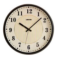 挂钟客厅个性创意时尚钟表家用现代简约北欧金属静音时钟装饰壁钟 14英寸