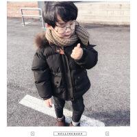 №【2019新款】冬天儿童穿的男童宝宝棉衣小童冬装棉袄加厚外套洋气儿童羽绒