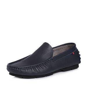 Tata/他她2018夏专柜同款牛皮字母平底男休闲鞋25M20BM8