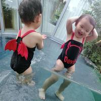 儿童泳衣男童一岁宝宝泳衣男婴儿2游泳装4宝宝泳衣男1-3岁小恶魔
