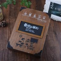 复古木盒同学录创意唯美活页毕业纪念册学生聚会留言本通讯录
