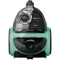 飞利浦(Philips) 吸尘器FC5833/81猎豹系列家用无尘袋家用大吸力卧式除螨静音大功率(薄荷绿)