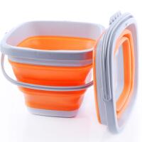折叠桶便携旅行软硅胶伸缩钓鱼桶户外用品储水桶洗车桶