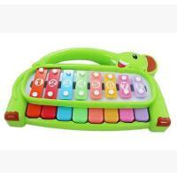 宝丽欢乐小木琴 敲琴 益智 幼儿童手敲琴 婴儿宝宝音乐玩具 1-2岁