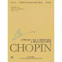 【预订】Works for Piano and Cello: Chopin National Edition