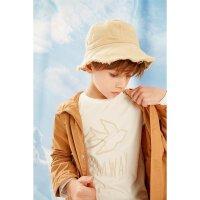 【3件1.5折到手价:23.25】米喜迪mecity童装春秋新款男童棉质长袖t恤套头印花上衣