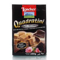 [当当自营] 奥地利进口 莱家 Loacker 粒粒装威化饼(黑巧克力)250g