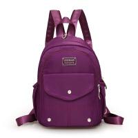 牛津布女士双肩包大容量妈妈包中年女包中老年人妈妈帆布旅行背包