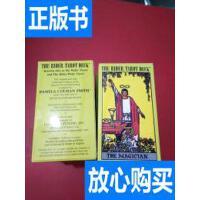 [二手旧书9成新]THE RIDER TAROT DECK 韦特塔罗牌 库存10副 /看
