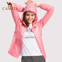 【范冰冰同款】骆驼户外皮肤衣防紫外线UPF40+防晒服男女运动风衣