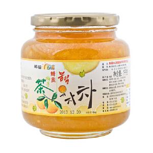 韩国进口 韩福10.2 蜂蜜柚子茶 1000g