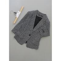 [N8-206]新款女装短款上衣时尚短外套36