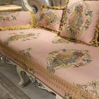 欧式沙发垫四季通用布艺客厅123组合套真皮防滑坐垫定做1