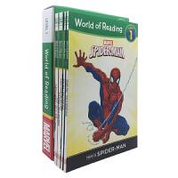 英文原版 World of Reading Marvel Boxed Set Level 1 漫威系列6册礼盒装 星战