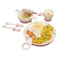 儿童餐具套装宝宝辅食吸盘碗勺婴儿吃饭餐盘