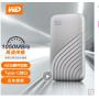 WD西部数据移动硬盘(西数固态移动硬盘)  My Passport USB3.1 SSD移动硬盘256G/512G/1T/2T可选 高端商务迷你移动硬盘