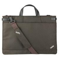 联想ThinkPad S3 S5电脑包手提包笔记本包15.6寸斜挎包单肩包 棕色