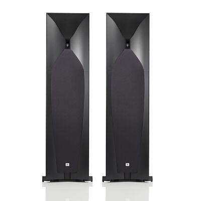 JBL STUDIO 590BK 家庭影院5.1音箱音响Hifi电视客厅落地音箱音响 家电自营 主音箱一对