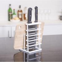 厨房刀架置物架多功能家用刀具收纳架菜板架砧板架收纳刀座创意