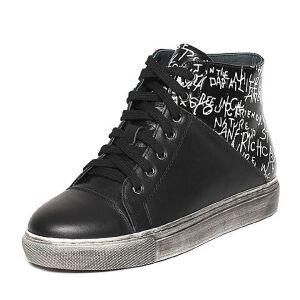Teenmix/天美意冬季专柜同款牛皮/羊皮帅气潮流女休闲靴AN651DD6