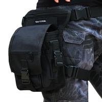 德毅营户外 多功能腰包男 登山旅行旅游骑行运动包 战术腿包