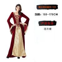 万圣节服装女巫cosplay演出蝙蝠小红帽海盗吸血鬼公主裙女
