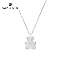 SWAROVSKI/施华洛世奇 Teddy 3D小熊女锁骨链项链 5345684