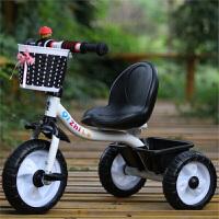W 儿童三轮车男女孩脚踏车小孩自行车宝宝手推车2-3-4-5岁B31