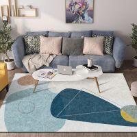 北欧现代简约地毯客厅茶几毯民宿百搭沙发地垫卧室地毯床边毯ins