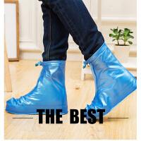 儿童户外防水雨鞋套女士雨靴学生雨天防滑加厚耐磨高筒鞋套男