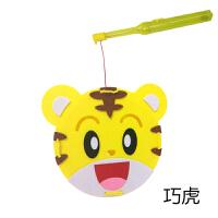 儿童DIY节日小礼品幼儿园手工玩具材料包卡通发光中秋小灯笼