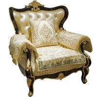 皮沙发垫欧式布艺四季通用防滑沙发套巾美式沙发坐垫夏季