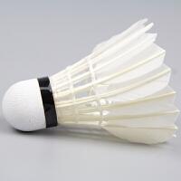 羽毛球12只装耐打王鹅毛室内室外练习比赛训练用6只装