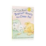【顺丰速运】汪培�EMy First I Can Read Biscuit Meets the Class Pet小饼干