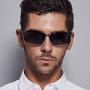 恋上(LianSan)太阳镜男款偏光太阳眼镜铝镁墨镜运动蛤蟆镜遮阳驾驶眼镜专业骑行镜 3043