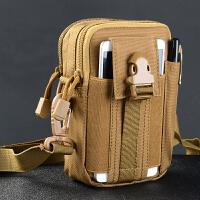 战术单肩背包挂包 户外军迷腰包 配件包 挂件6.0寸手机腰包