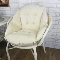 座椅垫连体坐垫靠垫一体护腰靠背垫办公室椅子学生宿舍加厚软垫子 米白色 柔软毛绒舒适款