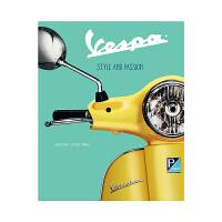 现货英文原版 韦士柏:风格与激情 精装视觉历史指南艺术书 Vespa: Style and Passion 意大利踏板车
