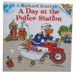 Richard Scarry's A Day at the Police Station 斯凯瑞经典作品 警察局的一天