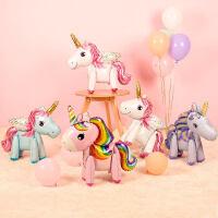 小马宝莉生日布置用品宝宝儿童周岁主题派对装饰飞马卡通铝膜气球5ev