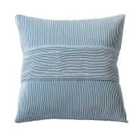 欧式沙发抱枕蝴蝶型工艺靠垫蓝色靠枕套含芯靠包