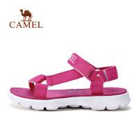 骆驼户外沙滩凉鞋男女款运动凉鞋男潮休闲鞋情侣魔术贴夏季沙滩鞋