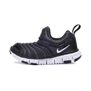 耐克(Nike)儿童鞋毛毛虫童鞋舒适运动休闲鞋343738-013 黑色