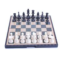 儿童学生迷你国际象棋书 大号磁性国际象棋套装折叠棋盘初学者