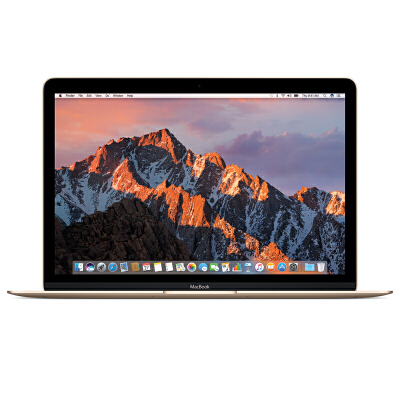 [当当自营] Apple MacBook 12英寸笔记本电脑 金色 256GB闪存 MLHE2CH/A【当当自营】支持礼品卡支付 正品国行 全国联保