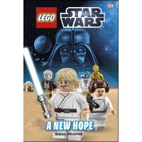 现货乐高星球大战 新希望 英文原版 精装LEGO? Star Wars? A New Hope 儿童趣味阅读读物 周边进